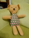 A teddy for Margot's Christmas.